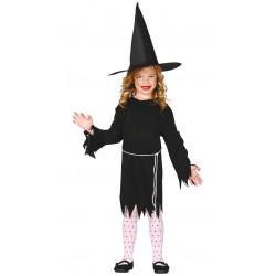 Disfraz Brujita Black Infantil