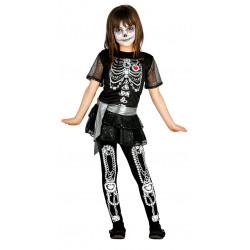 Shinny skeleton Infantil