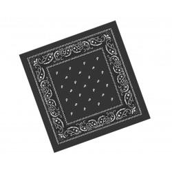 Pañuelo Paisley Negro