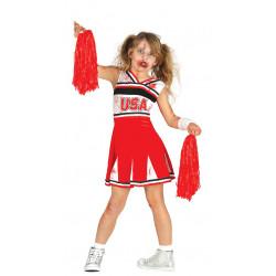 Cheerleader Zombie Infantil