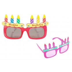 Gafas Velas Cumpleaños