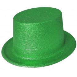 Chistera PVC Purpurina Verde