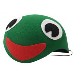 Casquete Infantil de rana verde