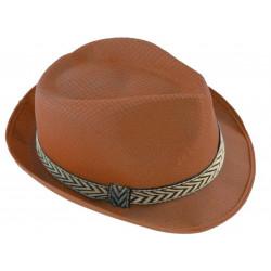 Sombrero de Tela Marrón
