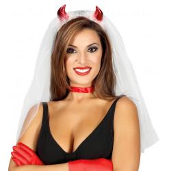 Velo de Novia Diablesa
