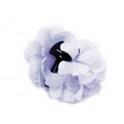 Flor Sevillana blanca 8cm