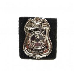 Placa De Detective