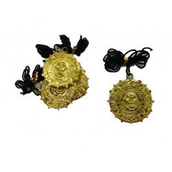 Set de Medallón Oro Pequeño