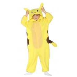 Disfraz de Chinchilla Eléctrica Infantil - Disfraz de Pikachu para Niño