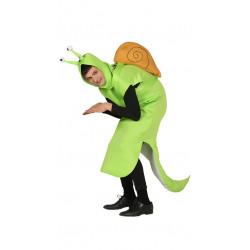 Disfraz de caracol verde para adulto