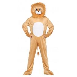 Disfraz de león lujo para adulto