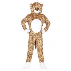 Disfraz de leopardo de lujo para adulto