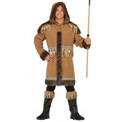 Disfraz de inuit adulto. Disfraz de esquimal para hombre