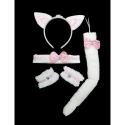 Conjunto Gato Blanco