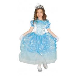 Disfraz de Princesa Cisne Infantil - Disfraz Princesa Azul Infantil - Disfraz de Cenicienta para Niña