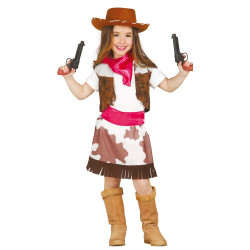 Disfraz de Cowgirl Infantil - Disfraz de Vaquera para Niña