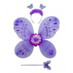 Conjunto De Mariposa Morado