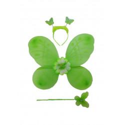 Conjunto De Mariposa Verde