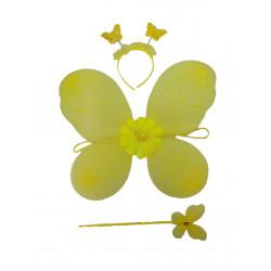 Conjunto De Mariposa Amarillo