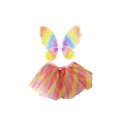 Conjunto De Mariposa Tutú Colores