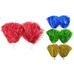 Pompón Grande brillante - Varios Colores