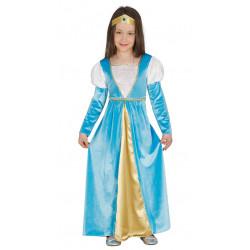 Disfraz de Dama Medieval Infantil - Disfraz Reina Julieta Medieval para Niña
