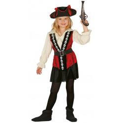 Disfraz de Pirata Infantil- Disfraz de Skull Pirata para Niña