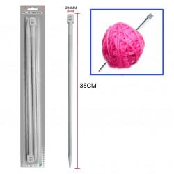 Aguja 10mm, para lana