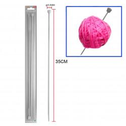 Aguja 5.5mm, para lana