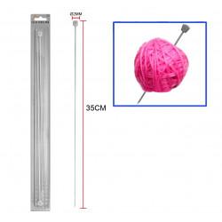 Aguja 2mm, para lana