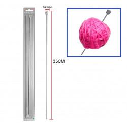 Aguja 4.5mm, para lana