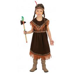 Disfraz de India Infantil - Disfraz de India Apache para Niña