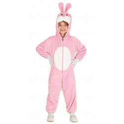 Disfraz de conejito rosa infantil - Pijama de conejo para niños