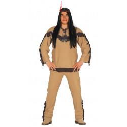 Disfraz de indio comanche para adulto