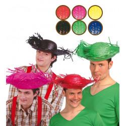 Sombrero espantapájaros / mexicano, varios colores
