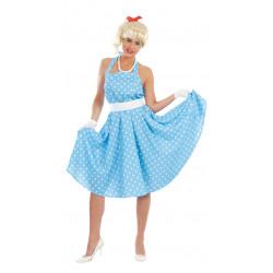 Disfraz de Sandy Olsson Adulta. Vestido Grase de los años 50's