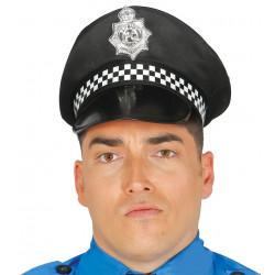 Gorra policia local de tela