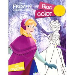 Frozen el Reino del Hielo Bloc Color