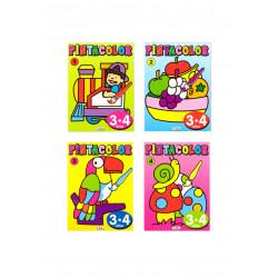 Pintacolor 3-4 años
