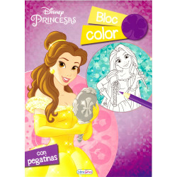 Princesas Disney bloc Color
