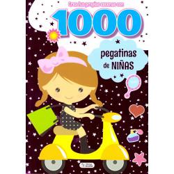 1000 pegatinas para niñas