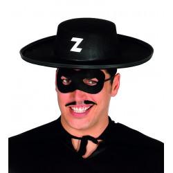 Sombrero bandido de El Zorro para adulto
