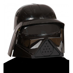 Casco Señor del Mal. Casco Darth Vader para adulto