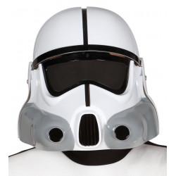 Casco soldado de la galaxia. Casco Stormtrooper para adulto