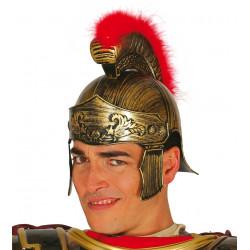 Casco de soldado romano. Casco de general centurión para adulto