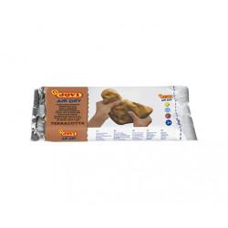 Pasta para modelar Terracota 250G