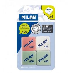 Gomas de Borrar 4 Unidades Milan