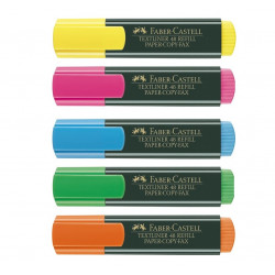 Resaltadores Faber-Castell, Varios Colores
