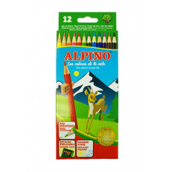 Lápices 12 Colores, Alpino
