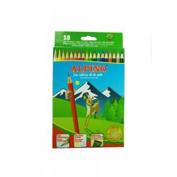 Lápices 18 Colores, Alpino